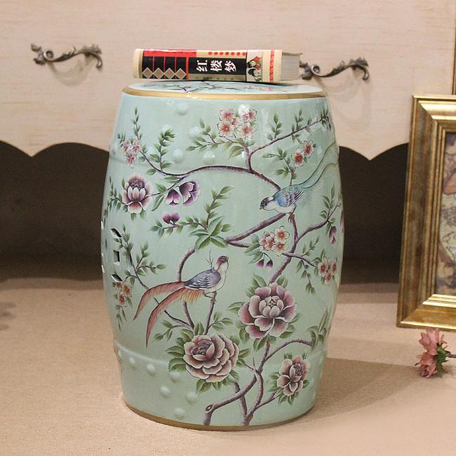 High End European Style Retro Home Accessories Decorative Font B Ceramic B Font Drum Font B