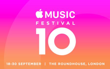 Apple Music Festival regresa y se celebrará en Londres del 18 al 30 de septiembre