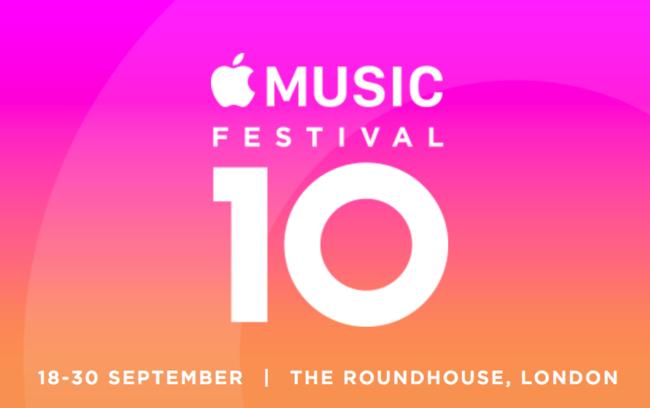 650 1200 Apple Music Festival regresa y se celebrará en Londres del 18 al 30 de septiembre