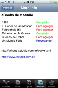 Añade un repositorio de eBook al Installer de tu iPhone o iPod touch