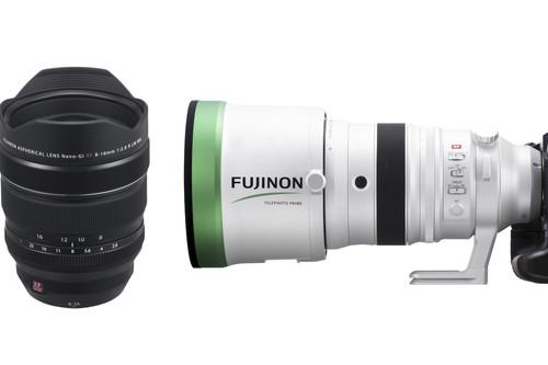 Fujifilm presenta el zoom XF8-16mm F2.8 R LM WR, el potente XF200mm F2 R LM OIS WR y desvela sus próximos objetivos