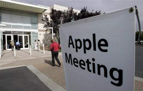 Algunos apuntes de la reunión de accionistas de Apple
