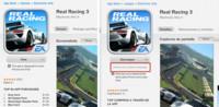 Apple añade indicación para avisar que las aplicaciones ofrecen compras integradas