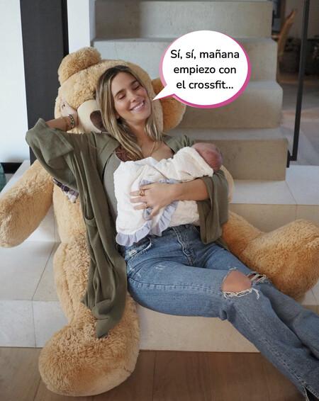 """María Pombo, sin prisa por recuperar la figura tras el nacimiento de su hijo Martín: """"El cuerpo de la mujer es sabio y necesita sus tiempos"""""""