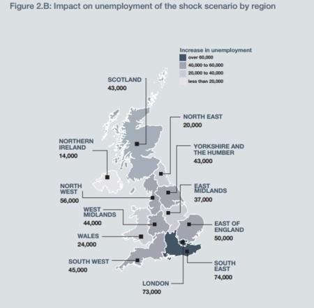 Desempleo Por Regiones