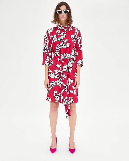Zara: novedades estampado floral en la colección primavera