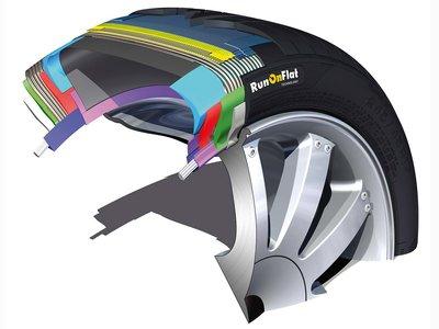 Los neumáticos RunOnFlat son más antiguos de lo que piensas, y si no, pregunta a Goodyear