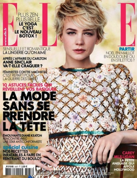 Carey Mulligan Elle France November 1 789x1024
