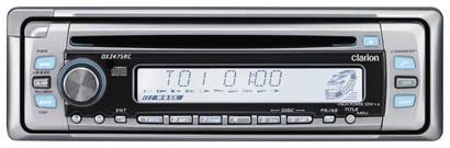 Clarion Radio CD para moto