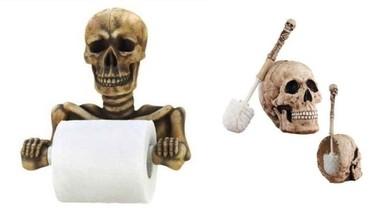 Un baño terrorífico para Halloween