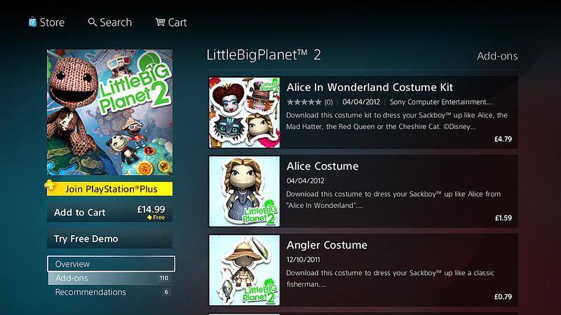 Foto de Nueva interfaz PS Store (3/7)