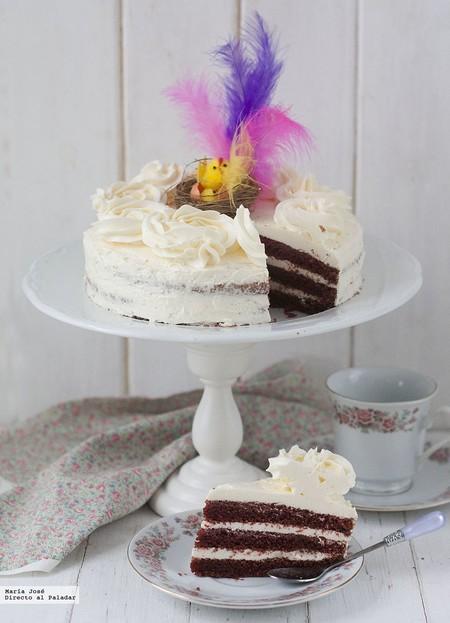 Mona de Pascua de crema de mantequilla con merengue: receta de Semana Santa con y sin Thermomix