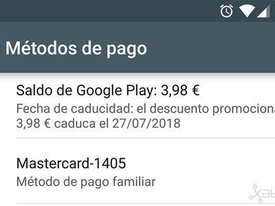 Cómo ver la fecha de caducidad de tu saldo de Google Play Store