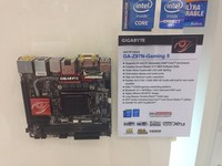 GIGABYTE revela Z97N-Gaming 5, motherboard mini-ITX para gamers