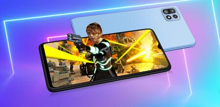 Samsung Galaxy F42 5G: la familia Galaxy F estrena la conectividad 5G junto a una pantalla de 90 Hz a cambio de menos batería