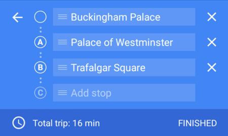 Google Maps para Android está activando la navegación hacía múltiples destinos