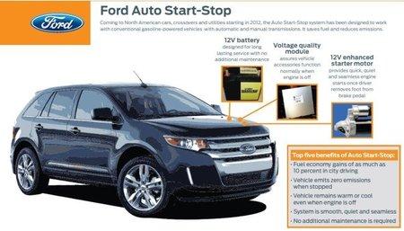 Ford Start Stop Diagrama