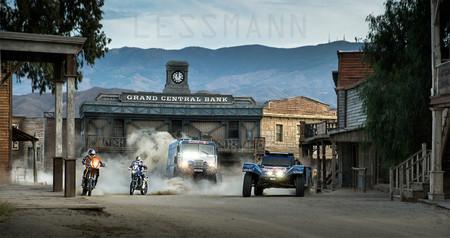 Presentación del Dakar 2014 por Alberto Lessmann