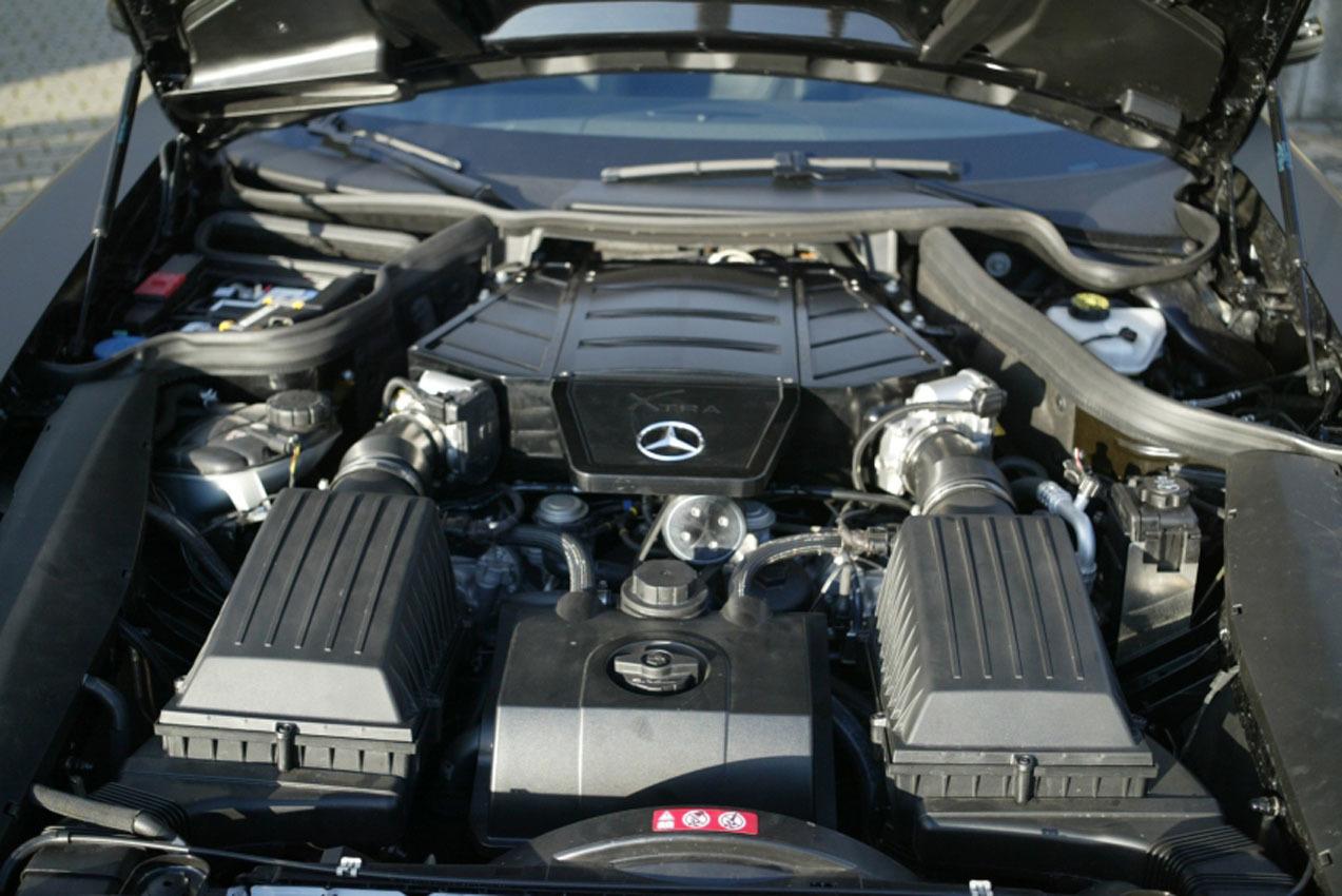 Mercedes Benz Sls Kompressor Por Hms Tuning 1 6