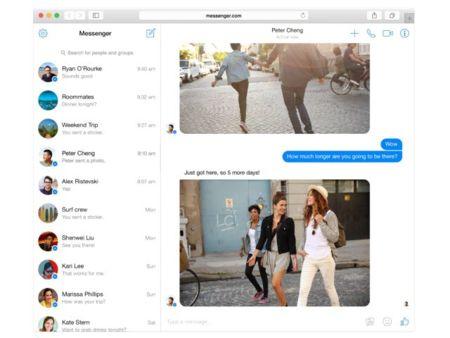 Facebook lanza Facebook Messenger para navegadores