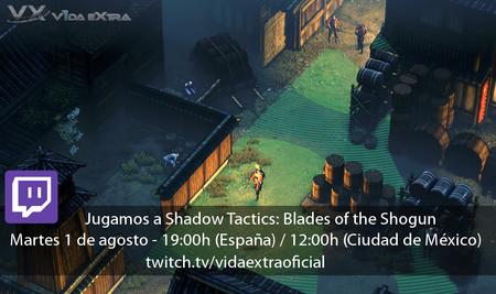 Jugamos en directo a Shadow Tactics: Blades of the Shogun a las 19:00h (las 12:00h en Ciudad de México) [finalizado]