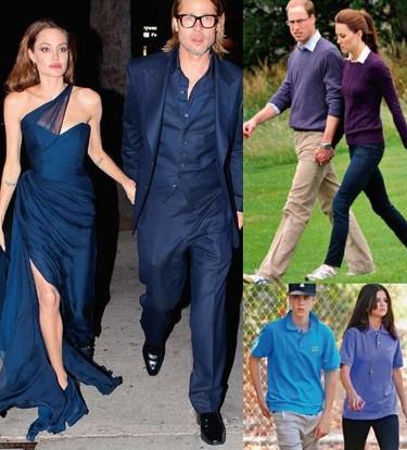 Celebrities mimetizadas. El no va más en las parejas de famosos es 'ir a juego'