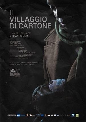 Imagen con el cartel de 'Il Villaggio di cartone'
