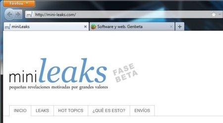 Minileaks, un portal para canalizar denuncias ciudadanas