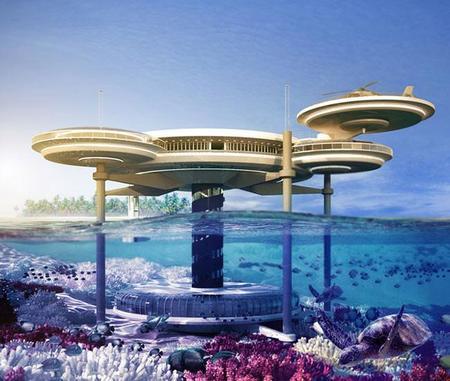 Water Discus Hotel en Dubai, arquitectura sin límites