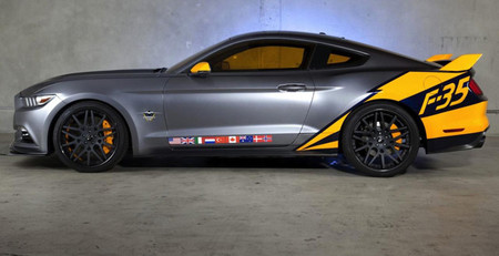 2015 Ford Mustang GT F-35 Lightning II Edition