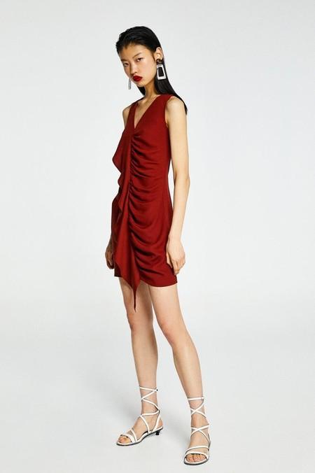 Vestido Fiesta Rojo Verano 2019