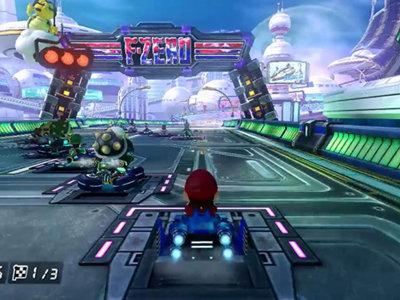¡Deseabas más velocidad verdad! Mute City muestra los 200cc en Mario Kart 8