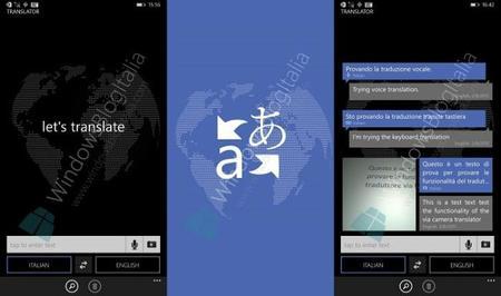 """Aparecen imágenes de lo que podría ser la nueva aplicación de """"Traductor"""""""