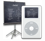 Usa el iPod para las presentaciones