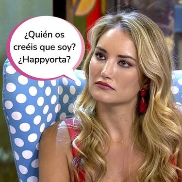 Alba Carrillo se enzarza contra aquellos que la acusan de haber sido infiel a Santi Burgoa con un conocido trabajador de Telecinco