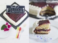 Sponge cheese cake. Tarta Directo al Paladar. Receta