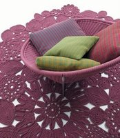 Alfombras en crochet diseñadas por Patricia Urquiola