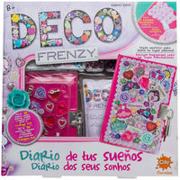 """Rebaja de 5 euros en Deco Frenzy """"Diario de tus sueños"""" para niños."""