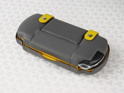 Funda de piel para la PSP