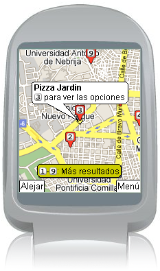Novedades en Google Maps Mobile