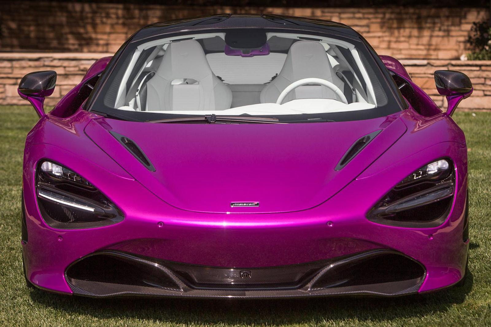 Foto de McLaren 720S fuxia (2/8)