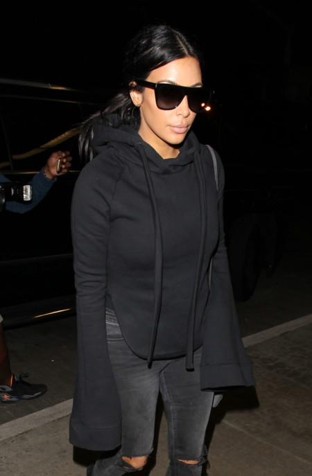 Kim Kardashian Vetements Hoodie