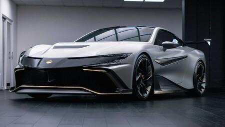 Naran V8,  el superauto de 1,000 hp al que puedes ponerle el nombre que desees