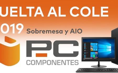 Las mejores ofertas en ordenadores de sobremesa y AIO HP, Dell, MSI o Acer en la Vuelta al Cole de PcComponentes (2019)