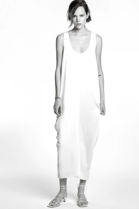 Sara Carbonero Vestido Blanco 5 Zara