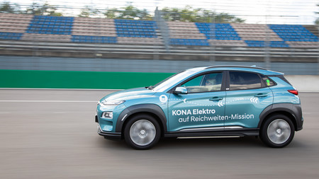 Hyundai Kona Electric Range Record 01