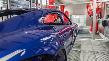 Porsche Taycan fabrica Zuffenhausen carrocería