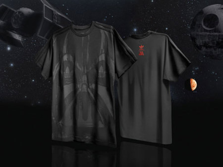 Adidas Star Wars camiseta negra 2
