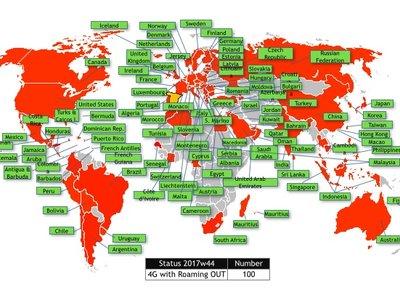 Los clientes de Orange ya pueden conectarse a redes 4G en 100 países gracias a nuevos acuerdos