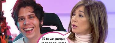 Ana Rosa Quintana, indignada con 'El Rubius' y todos los youtubers que se trasladan a Andorra para pagar menos impuestos
